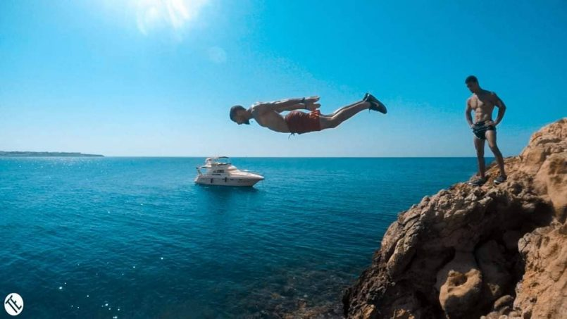 Jump of The cliff
